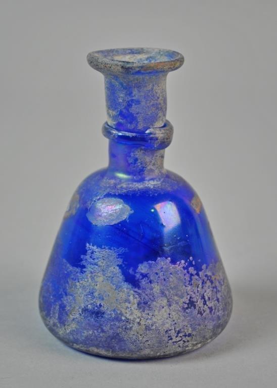 (2) ROMAN GLASS VESSELS - 3