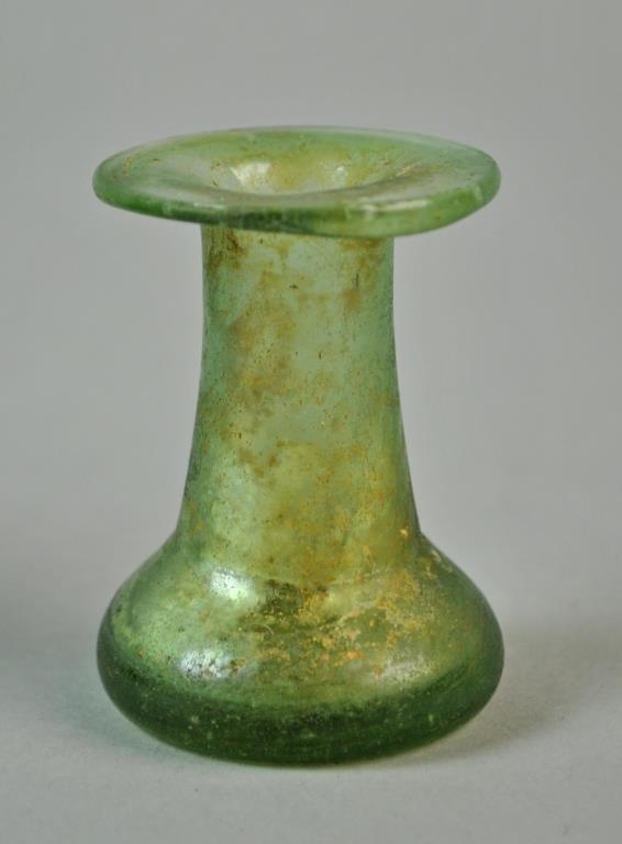 (2) ROMAN GLASS VESSELS - 4