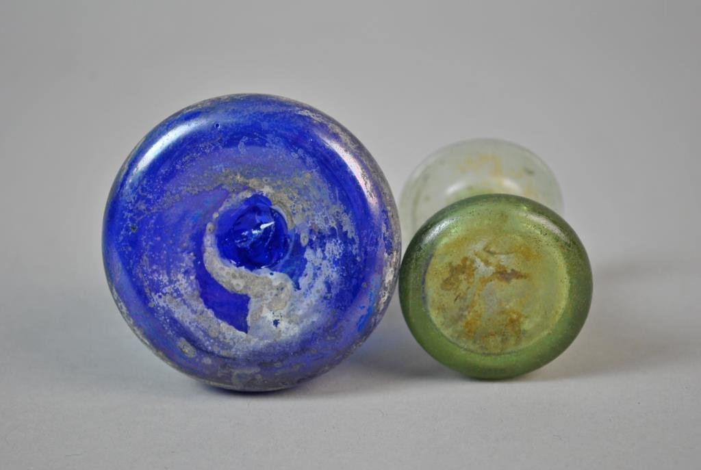 (2) ROMAN GLASS VESSELS - 5