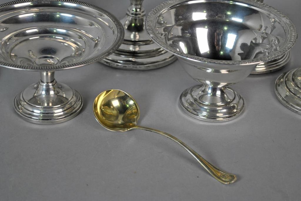 (8) PIECE STERLING TABLEWARES GROUP - 2