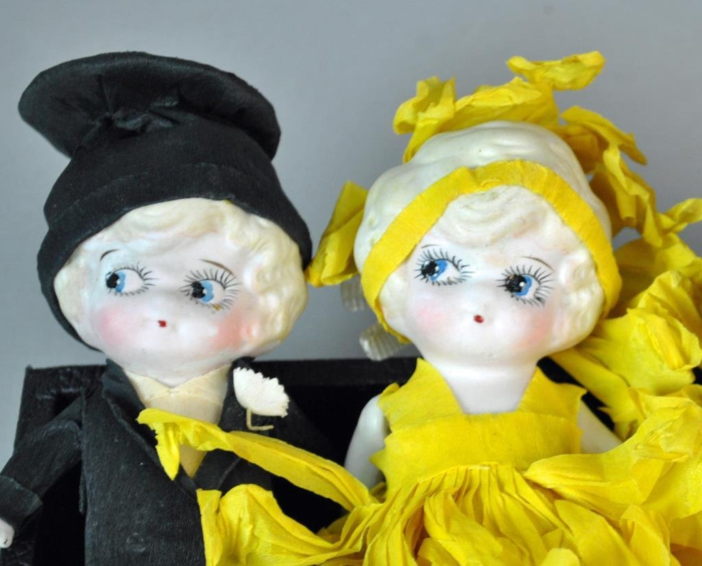 (21) ALL-BISQUE DOLLS - 2