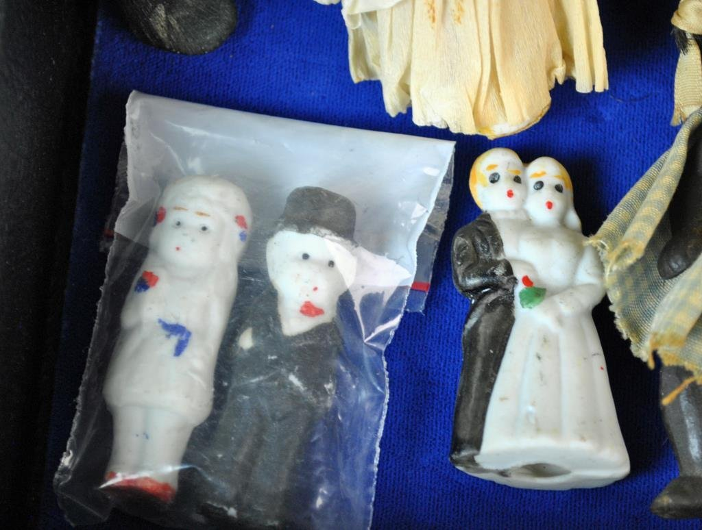 (21) ALL-BISQUE DOLLS - 6