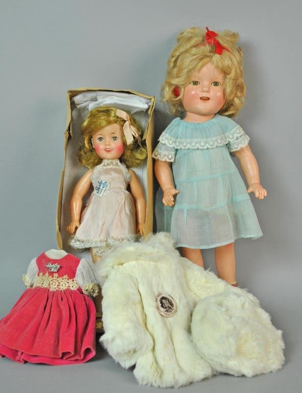 (2) SHIRLEY TEMPLE DOLLS