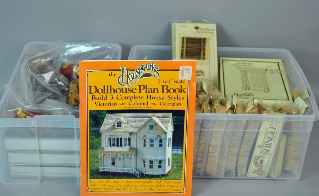 HOUSEWORKS DOLLHOUSE ACCESSORIES