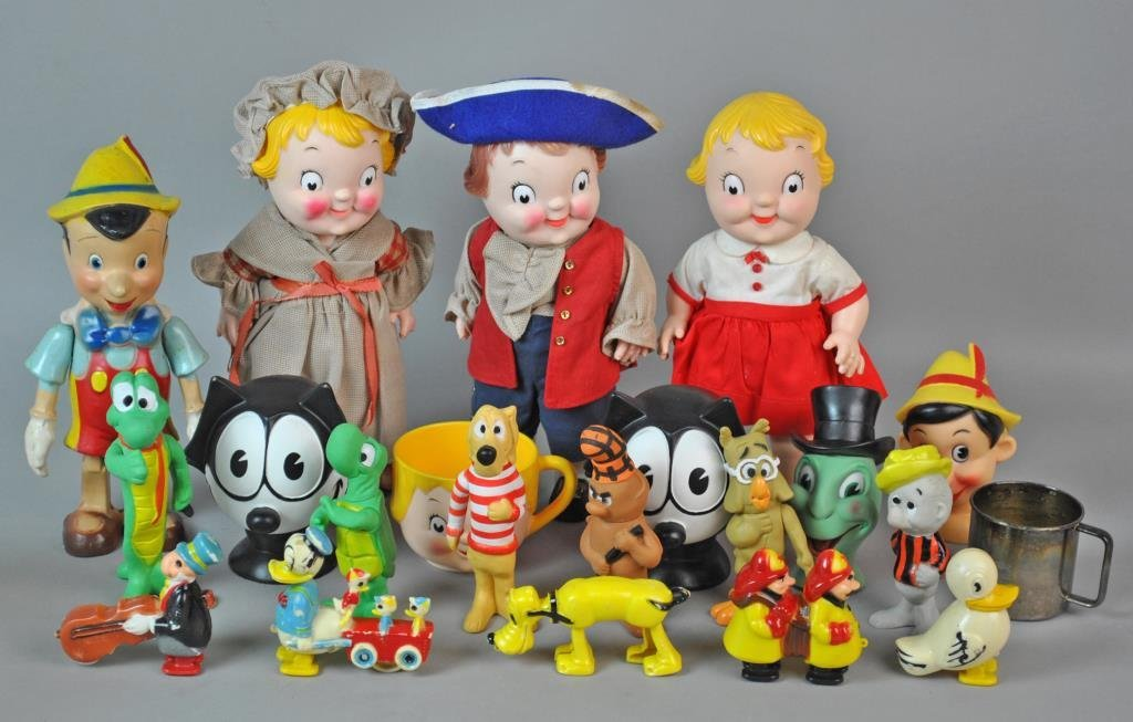 (21) ASSORTED COLLECTIBLE TOYS