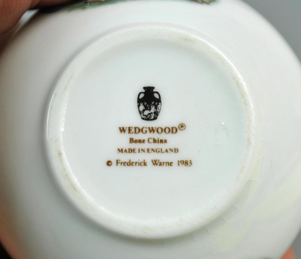 (13) PIECE WEDGWOOD MINIATURE TEA SERVICE - 3