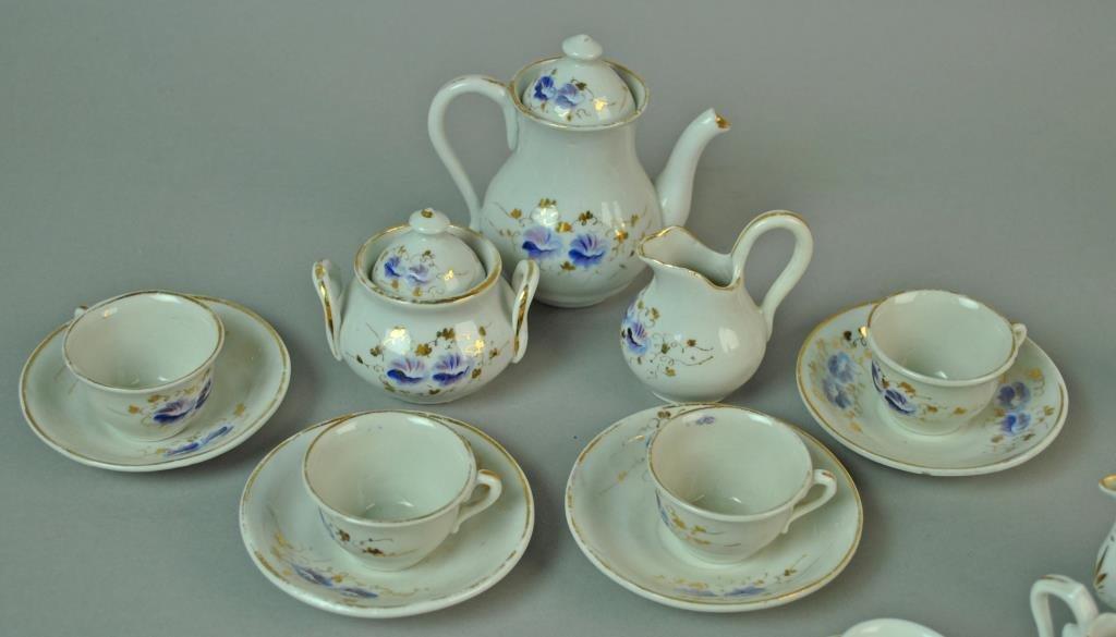 (3) PORCELAIN CHILD'S TEA SETS - 2