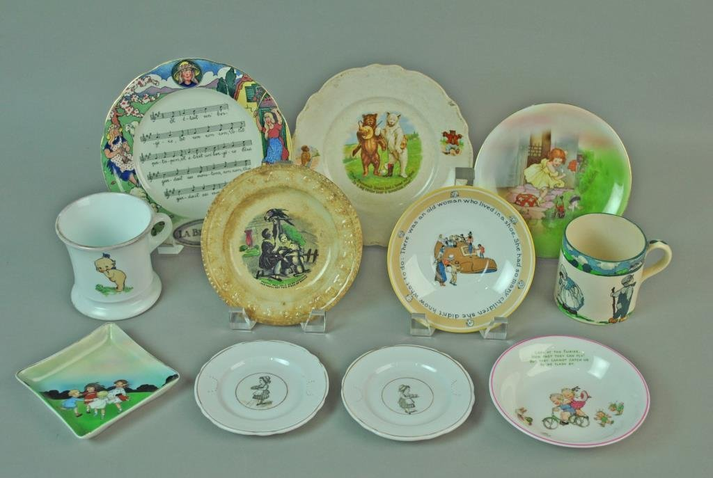 (11) PIECE CHILDREN'S TABLEWARE GROUP