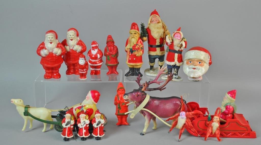 (31) PIECE VINTAGE CHRISTMAS GROUP