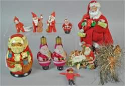 18 PIECE VINTAGE CHRISTMAS GROUP