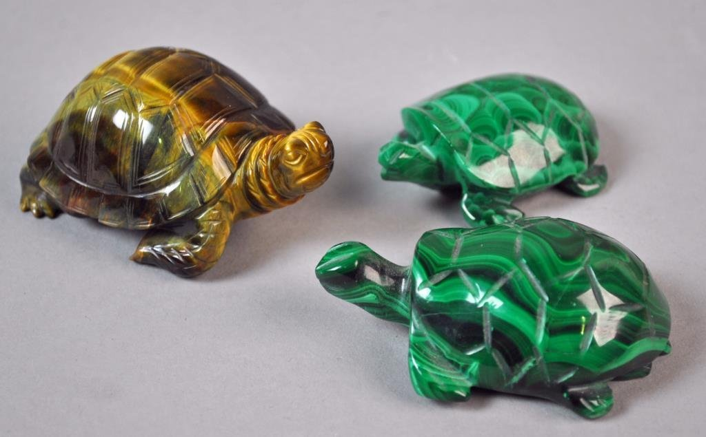 (27) PIECE COLLECTIBLE TURTLE GROUP - 2