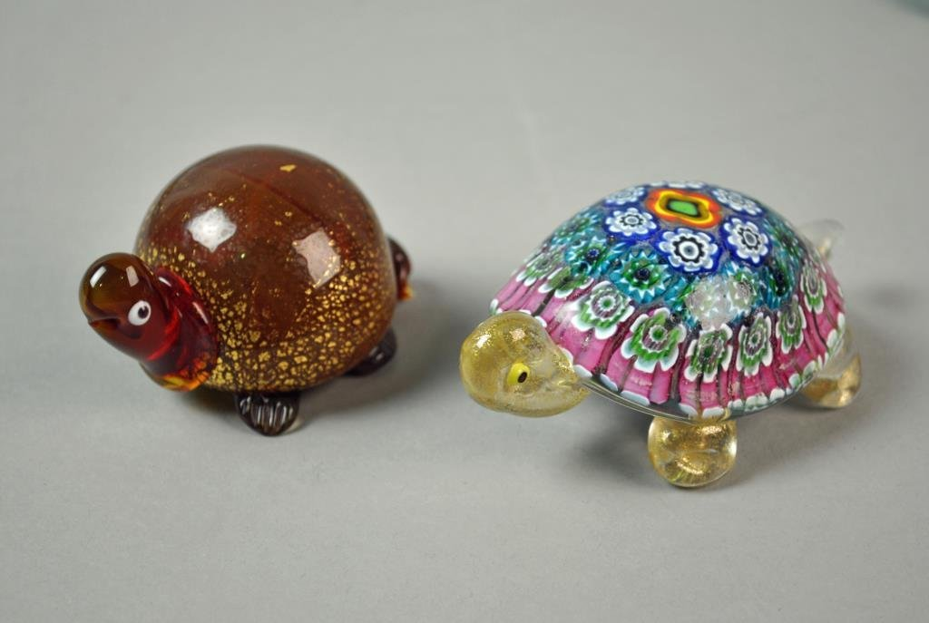 (27) PIECE COLLECTIBLE TURTLE GROUP - 3