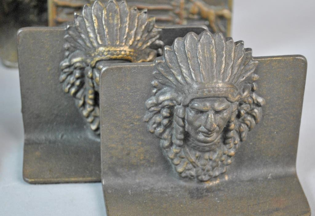(6) PAIRS OF VINTAGE BOOKENDS - 5