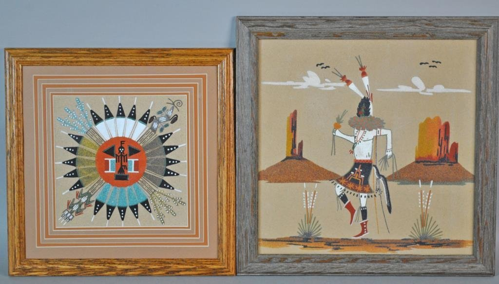 (4) NATIVE AMERICAN ARTWORKS