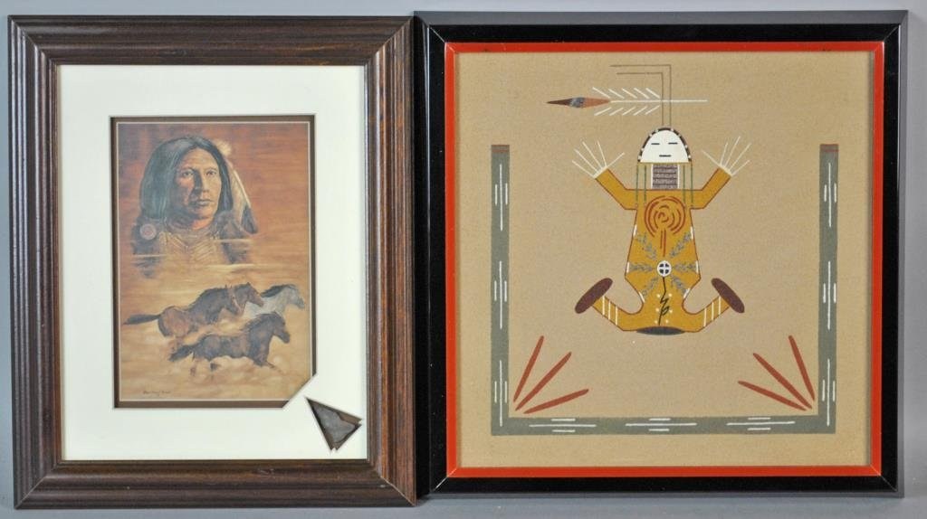 (4) NATIVE AMERICAN ARTWORKS - 2