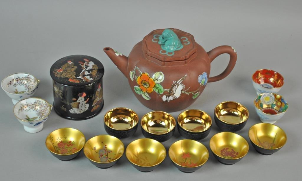 (16) PIECE ASIAN TEA GROUP