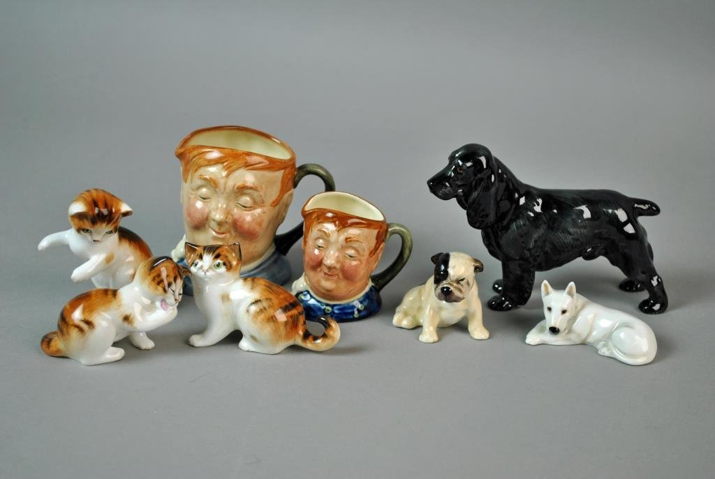 (8) PIECE ROYAL DOULTON COLLECTIBLE GROUP