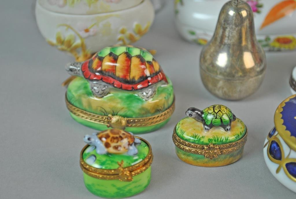 (15) ASSORTED COLLECTIBLE BOXES - 2