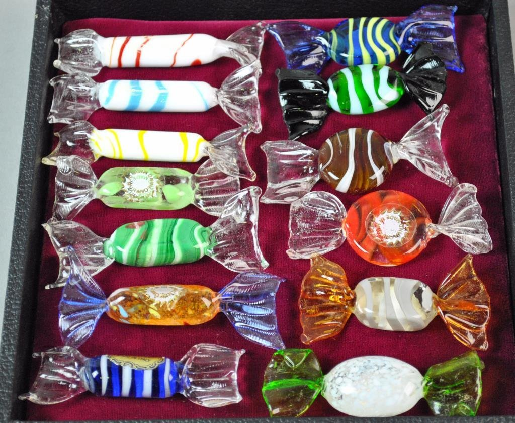 (20) MURANO GLASS FRUITS & CANDIES - 4