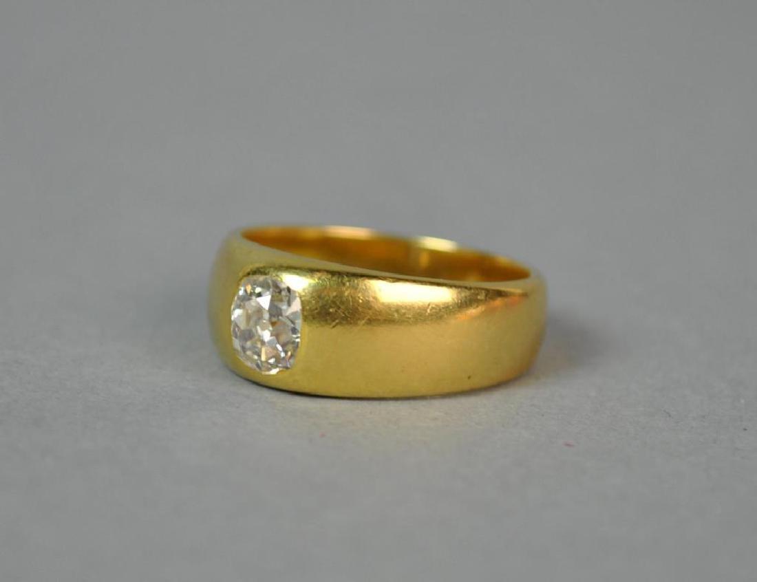 18K FRENCH DIAMOND RING