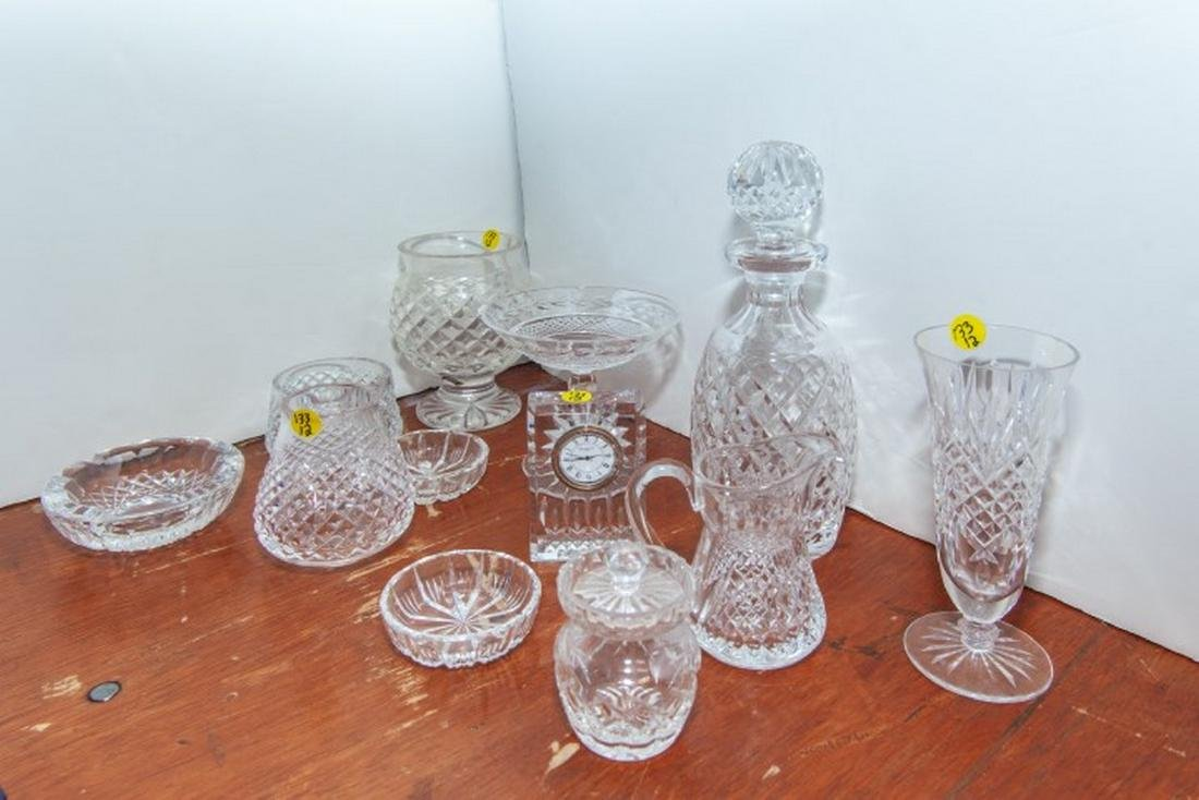Lot Waterford Crystal