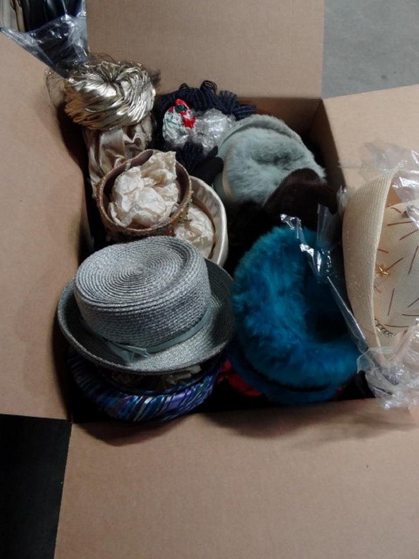 Lot of Vintage Hats