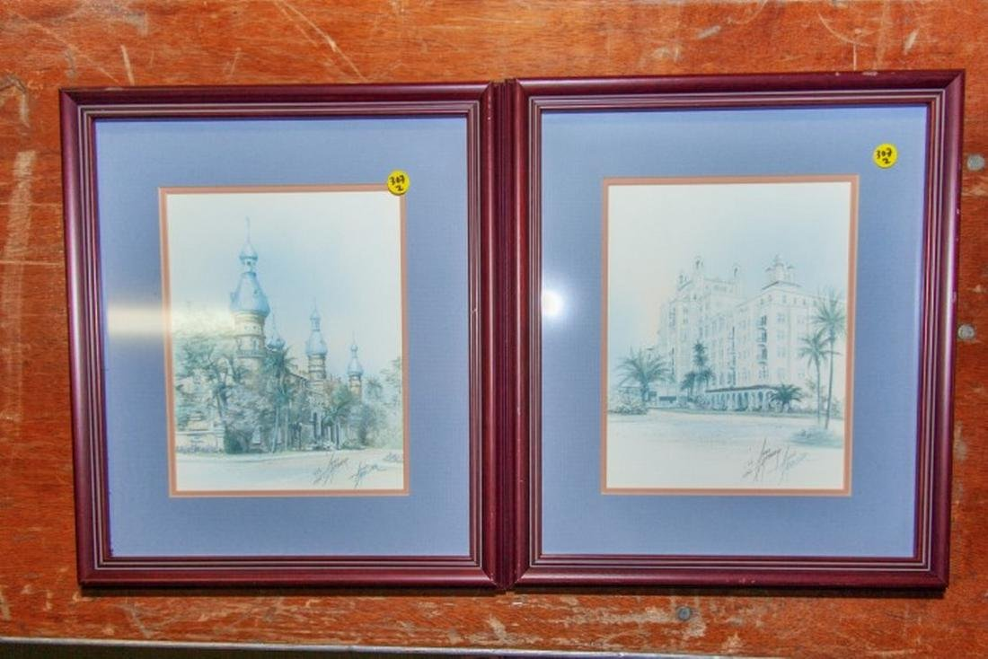 Lot of 2 Signed Limited Edition Prints