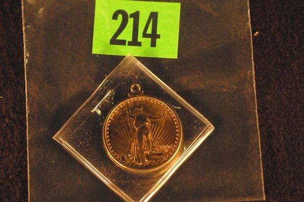 "214: U.S. Saint-Gauden's $20 ""Double Eagle"" Gold Coin 1"