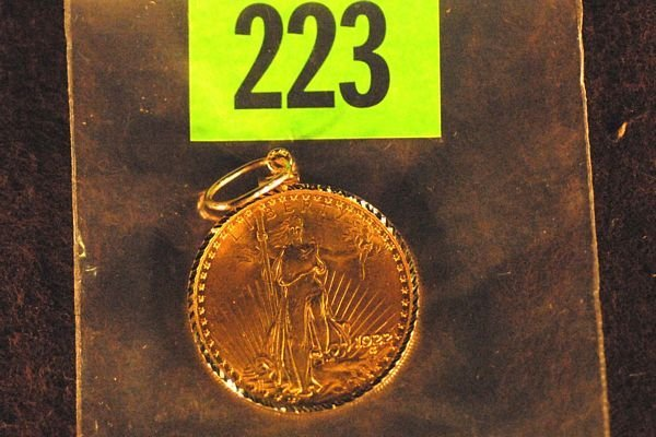 "223: U.S. Saint-Gauden's $20 ""Double Eagle"" Gold Coin 1"
