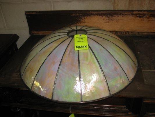 15B: Glass Domed Chandelier (No Light Fixture)