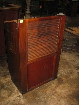 18: Wooden Hostess Stand...