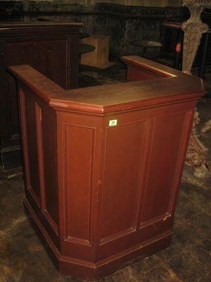 19: Wooden Hostess Stand...