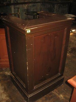 20: Wooden Hostess Stand ...