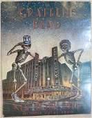 1980 Grateful Dead New York City Vintage Concert Poster