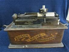 Antique Edison Home Phonograph
