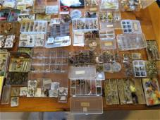 Collection of Thousands of Fly Fishing Flies