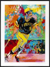 Willie Stargell Lithograph by Leroy Neiman #205/300