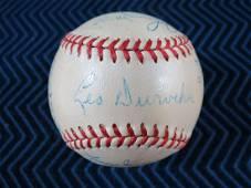 1949 New York Giants Team Signed Baseball