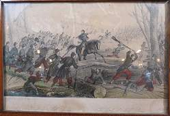 Rare Civil War 1860s The Battle of Mill Spring