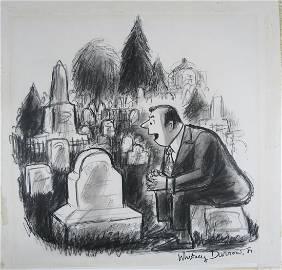 Whitney Darrow Jr (1909-1999) Original Illustration New