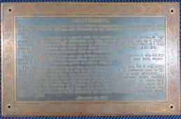 Bronze Gettysburg Address Building Plaque 11 x 18