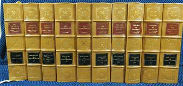 Easton Press The Story of Civilization - 10 Volumes