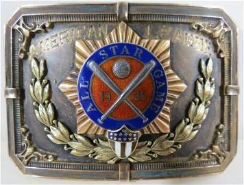 1935 Joe Cronin All-Star Game Presentation Belt Buckle