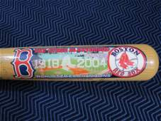 Boston Red Sox Greats Signed Full Size Baseball Decal