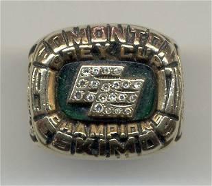 1: 1978 Edmonton Eskimos CFL Championship Ring