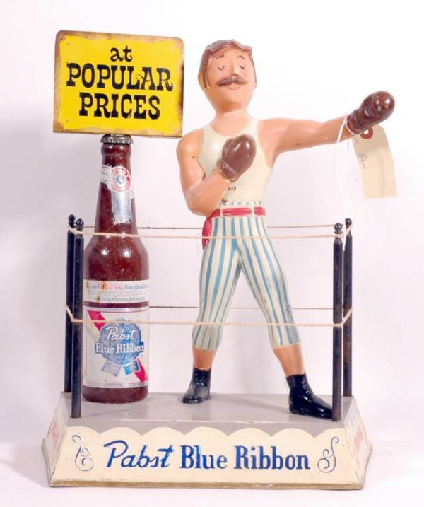 2: Pabst Blue Ribbon Boxing Advertising Piece