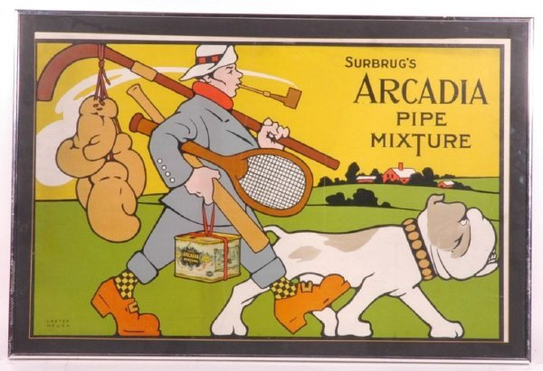 3: Surbrug's Arcadia Pipe Mixture Sports Tobacco Ad S