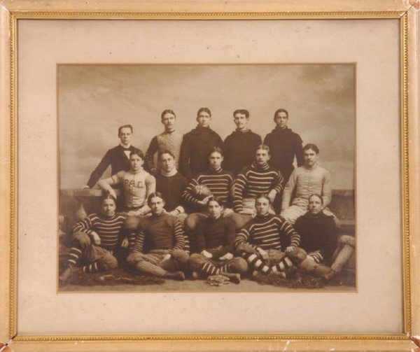12: 1897 PAC (Princeton?) Football Team Imperial Cabin