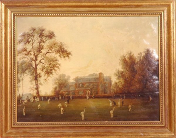 "13: ""Cricket At Gadshill Place, Rochester"" Ltd Ed Pr"
