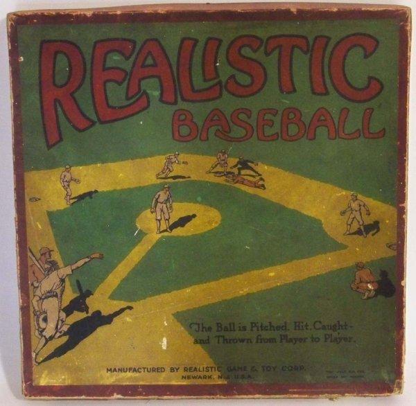19: 1925 Realistic Baseball Board Game